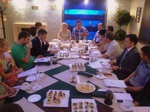 Первое заседание рабочей группы по подготовке II Международного Экономического Бизнес-Конгресса